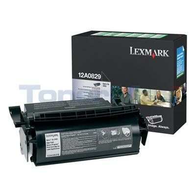 LEXMARK OPTRA SE3455 RP PRINT CARTRIDGE LABEL APPS RP HY